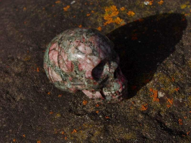 Kristallschädel Jaspis #1074