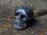 Kristallschädel Sodalith #1311